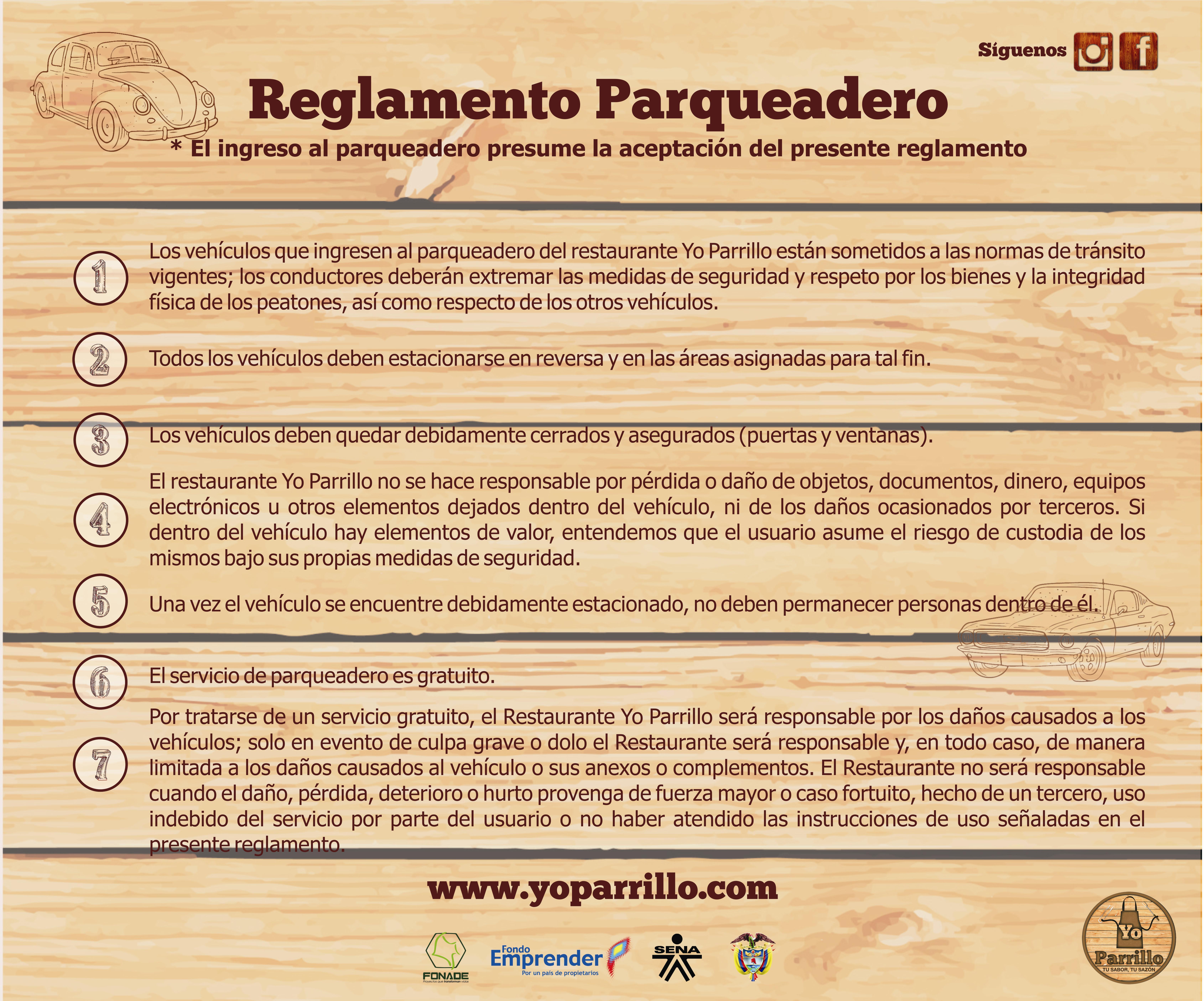 RegParquedero